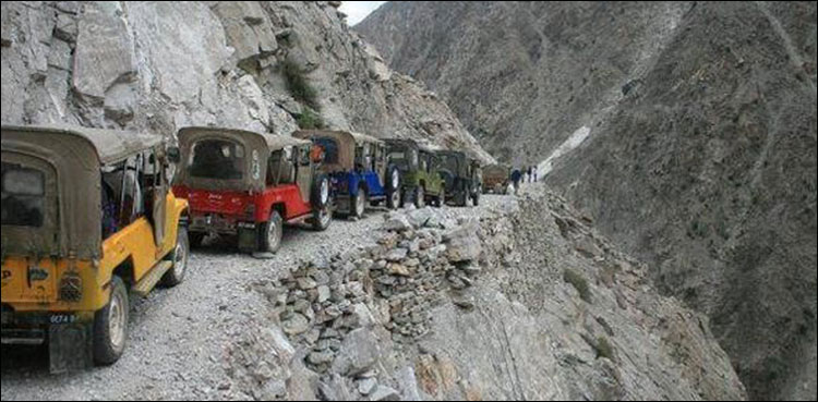 Daring Death On The Roads Of Pakistan S Northern Mountains