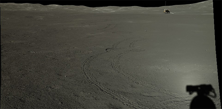 'Never-seen' images of Moon's far side released by China
